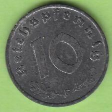 Alliierte Besatzung 10 Reichspfennig 1947 F toll erhalten nswleipzig