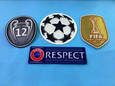 2017 UEFA CHAMPIONS LEAGUE Real Madrid SET Soccer patch 12 TROPHY badge -S-0002