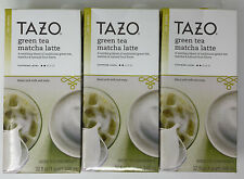 TAZO Green Tea Match Latte Green Tea Concentrate 32 oz - 3 ct Best By June 2020