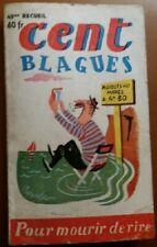 C1 Frederic DARD Cent Blagues # 45 1955 PORT INCLUS France SAN ANTONIO Gin WEIL