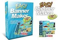 EASY BANNER MAKER PRO Baukastensystem für Werbebanner BANNER Creator MRR-LIZENZ