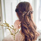 2pcs New Girls Women Metal Branch Leaves Hairpin Bobby Pin Hair Clip Accessories