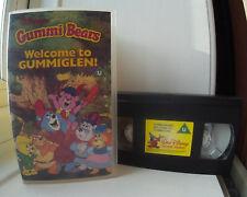 Gummi Bears - Welcome To Gummiglen Disney  VHS Video