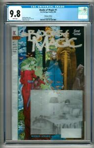 "Books of Magic #1 (1994) CGC 9.8  White Pages Rieber - Vess  ""Platinum"" Edition"