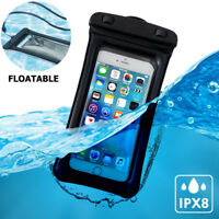 Universal Waterproof Cell Phone Pouch Floatable Dry Bag Case For iPhone 8/Plus/X