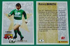 FOOTBALL CARD PANINI 1994 GEORGES BERETA ASSE EQUIPE FRANCE OM