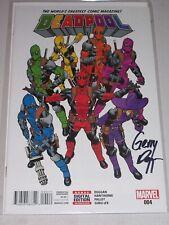 Deadpool #4! (2016) Signed by Writer Gerry Duggan! NM! COA!