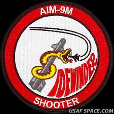 USAF 83rd FIGHTER WEAPONS SQ - AIM-9M SIDEWINDER SHOOTER - ORIGINAL PATCH