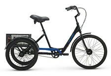 2017 Raleigh Tristar HD Black Adult Tricycle