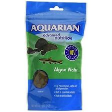Aquarian Complete Nutrition, Aquarium Algae Eater Fish Food Sinking Algae -