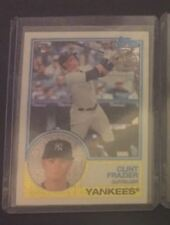 2018 Topps Silver Pack 1983 Topps Chrome Refractor Clint Frazier Yankees