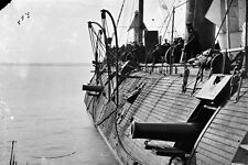 New 5x7 Civil War Photo: Effects of Confederate Fire on the USS GALENA - 1862