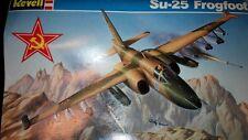 軍事模型-Su-25 Frogfoot軍攻機 Soviet Ground Attacking Fighter, Revell 1:72