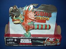 HOW TRAIN YOUR DRAGON Race to the Edge - DEADLY NADDER Tail Twist Spike Attack