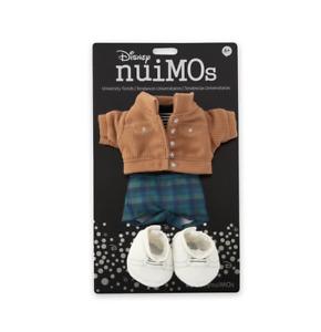 Disney NuiMOs Corduroy Jacket Striped Shirt Plaid Pants White Sneakers New