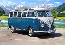 Volkswagen T1 Samba Bus, Revell Auto Modèle De Kit De Montage 1:16, 07009