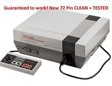 Nintendo Original NES Console System All Hookups TESTED NEW 72 PIN Refurbished