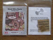 Osborn Model Kits N Scale Small Wire Reels 12 pack RRA-3032  Bob The Train Guy