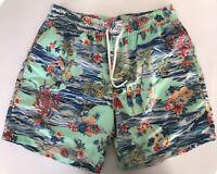 Polo Ralph Lauren Mens Designer Luau 5 3/4 Traveler Board Shorts Swim Trunk XL