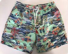 Polo Ralph Lauren Mens Designer Luau 5 3/4 Traveler Board Shorts Swim Trunk