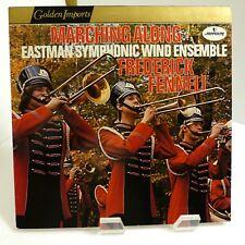 Frederick Fennell Eastman Wind Ensemble Marching Along Mercury SRI75004 Mint LP