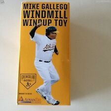 Oakland Athletics A's MIKE GALLEGO WINDMILL WINDUP TOY BRAND NEW LIKE BOBBLEHEAD