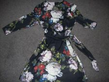 LOVELY PRINTED STRAIGHT DRESS & BELT  FROM M & S ..BNWT..SIZE 8