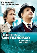 THE STREETS OF SAN FRANCISCO - COMPLETE SEASON 3 -   DVD - REGION 1  sealed