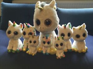 Ty Beanie Boo Unicorn Collection