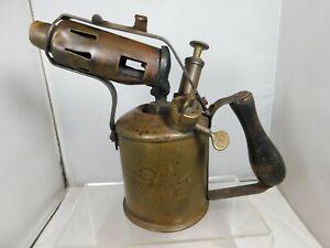 Vintage Original Max Sievert 1 Pint (0.5 Liter) Blow Lamp / Torch