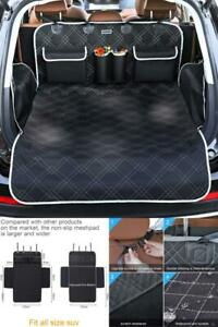 BRONZEMAN Pet Cargo Cover Liner for SUV and Car,Non Slip,Waterproof Dog Seat Cov