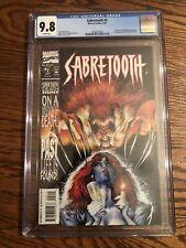 Sabretooth Solo Series #2 CGC 9.8 1993 Mark Texeira Mystique Death Hunt NM/Mint