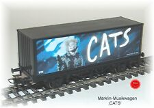 Märklin Sonderwagen -Musical-  CATS   #NEU in OVP#