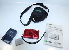 Canon PowerShot Digital ELPH SD780 IS / IXUS 100 IS 12.1MP - Red - Bundle