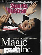 SPORTS ILLUSTRATED - FEATURING MAGIC JOHNSON ON THE COVER FROM DECEMBER 3, 1990