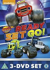 Blaze and The Monster Machines Ready Set Go Collection DVD 3 Movies Region 4