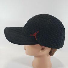 Rare Air Jordan jumpman Nike Woven Fitted Hat Cap L XL Retro BRED Black Red