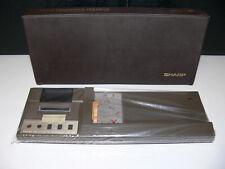 SHARP CE-122 Drucker mit original Reisetasche für Pocket Computer PC-1211 1210