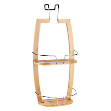 NEW KOO Bamboo Shower Screen Caddy By Spotlight