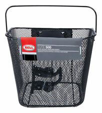 Tote 500 Black Quick Release Mesh Handle Bar Basket, Bell Sports New