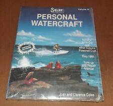 Du5C19700 Seloc Yamaha & Other Personal Watercraft -1991 Repair Manual Vol Iii