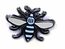 Manchester Bee Badge Blue City