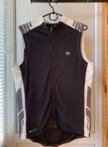 PEARL IZUMI Cycling Jersey Mens Size XL Sleeveless Full Zip Elite