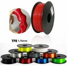 1.75mm Soft Printer Filament 3D TPU Modeling Flexible Elastic Printing Material