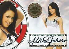 (HCW) 2012 Bench Warmer Vegas Baby ALICIA JOHNSON Autograph Auto Card