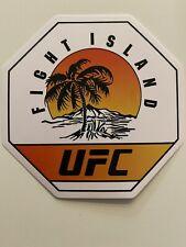 UFC STICKER UFC FIGHT ISLAND STICKER MMA Sticker UFC~BELLATOR~WEC STRIKEFORCE