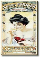 Joseph Perrier Champagne, Picture on Streched Canvas, Wall Art Décor, Ready to H