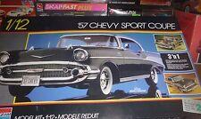 Monogram Revell 1:12 1957 '57 Chevy 3n1 Bel Air Sport Model Car Mountain