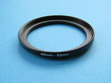 46mm to 52mm Step Up Step-Up Ring Camera Lens Filter Adapter Ring 46mm-52mm