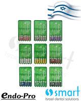 LotX9 Dental Endodontic Instrument H file Endo-pro Hedstroem root canal sst 21mm